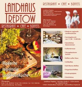 Landhaus Treptow Flyer